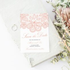 Vintage Lace Wedding Stationery Suite