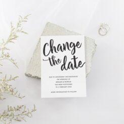 Change of Plan Cards